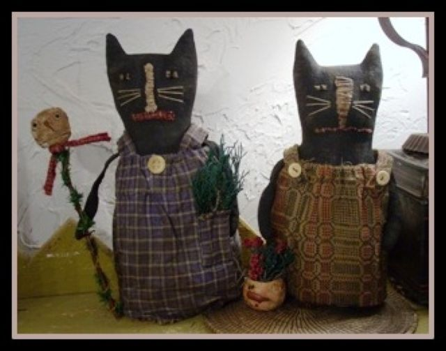 Marcy Dailey's handcrafted folk art