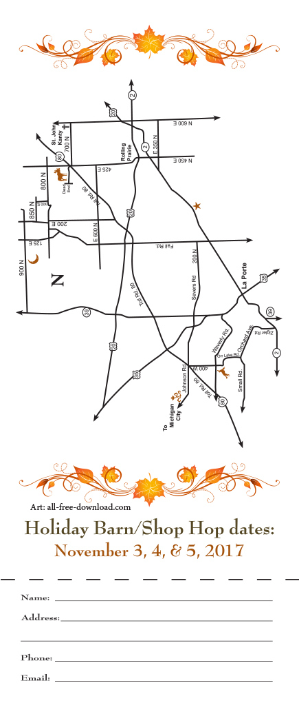 La Porte County Barn/Shop Hop