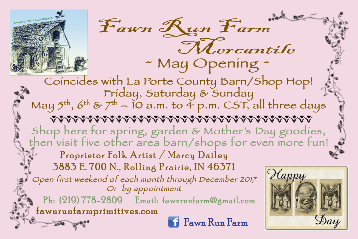 La Porte County Barn/ Shop Hop