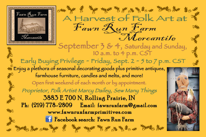 Fawn Run Farm Mercantile September opening