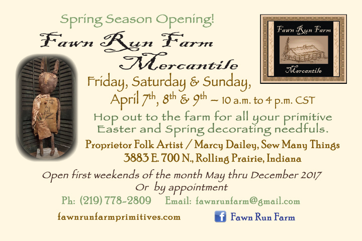 Fawn Run Farm Mercantile Spring Opening 2017