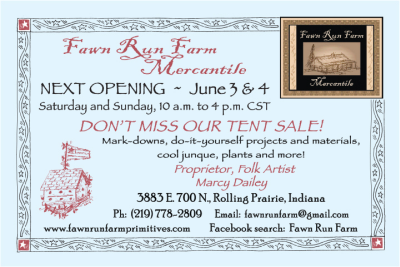 Fawn Run Farm June Opening