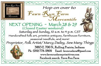 Fawn Run Farm Mercantile next opening