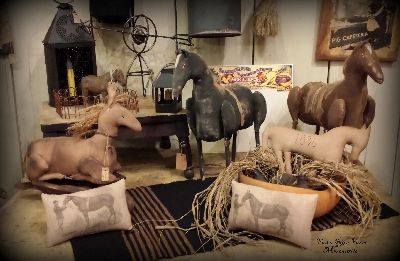 handcrafted horses