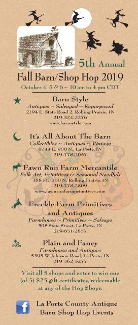 Fawn Run farm October Opening