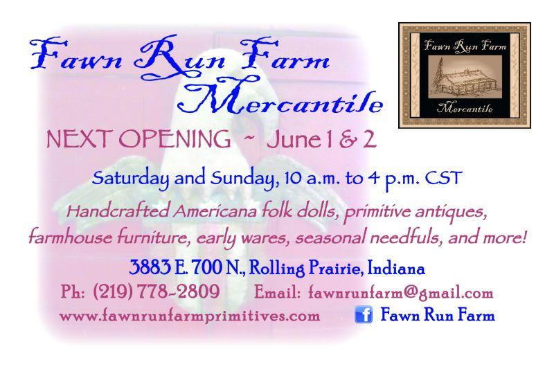 Fawn Run Farm June opening