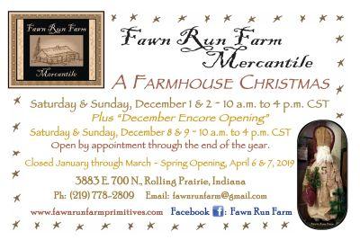 December openings