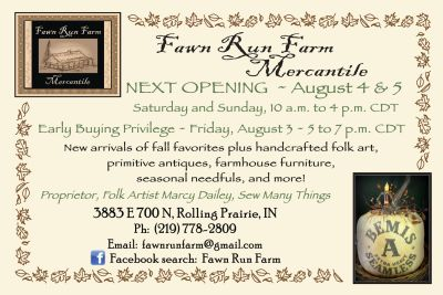 August Mercantile opening