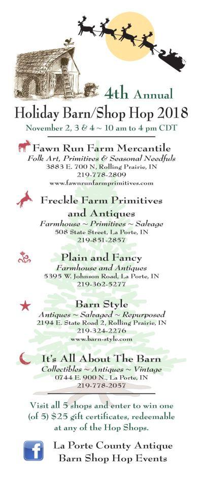 La Porte County Holiday Barn Hop